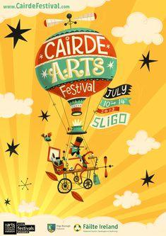 affiche cairde arts festival 2013
