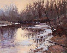 December Heat Wave by Barbara Jaenicke Pastel ~ 16 x 20