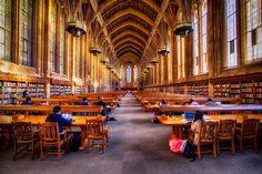 Destination Libraries: Five Beautiful University Reading Rooms