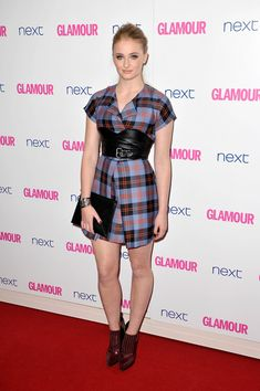 Actress Sophie Turner attends the Glamour Women of the Year Awards at Berkeley Square Gardens on June 3, 2014 in London, England.