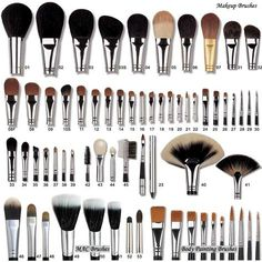 guide to make up brushes