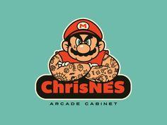 Mario Ripped & Inked.