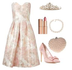 """""""prom"""" by daisychain24 on Polyvore featuring Miss Selfridge, Carolee, Glam Cham, Charlotte Tilbury and BillyTheTree"""