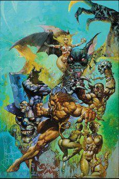 Danzig & Verotik – The Art of Simon Bisley Simon Bisley, Arte Heavy Metal, Comic Art Community, Comic Kunst, Batman, Fantasy Inspiration, Fantastic Art, Sci Fi Art, Fantasy Artwork