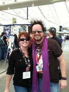 Giorgio Tsoukalos from Ancient Aliens!! My absolute fave TV show.