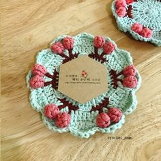 Diy Crochet And Knitting, Crochet Art, Cute Crochet, Crochet Doilies, Baby Knitting, Crochet Patterns, Grannies Crochet, Diy And Crafts, Arts And Crafts