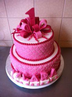 Torte erster Geburtstag Mädchen