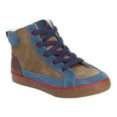 Boys' Hanna Andersson Tomas Lace Up Ankle Boot Foggy /Plastic