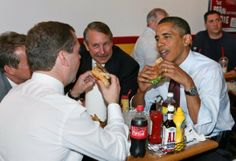 President Obama Having Lunch…With MoreBurgers