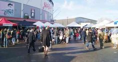 Vancouver's Winter Farmers Market takes place on Saturdays from November until April in the parking lot at Nat Bailey Stadium at 4601 Ontario Street. Vancouver Winter, Canada Holiday, Farmers Market, Street View, Marketing, Park, Parks