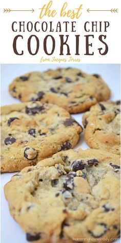 Huge bittersweet chocolate chunks combined with the soft, chewy dough (made from two types of flour!) create these big delicious cookies. Named the best chocolate chip cookie recipe by the New York Times.