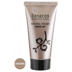 Benecos Flawless Face Matte Foundation Caramel|poeder & foundation|make-up|mooi & gezond - Vivolanda