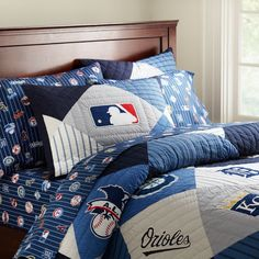 Pottery Barn Look-Alikes: Save 150.00 @ Target vs PB Teen New MLB American League Quilt and Sham
