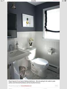 pinterest small bathrooms | Small bathroom