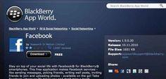 Conoce sobre Facebook también abandona BlackBerry