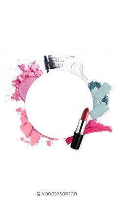 Wallpaper Makeup, Makeup Wallpapers, Makeup Artist Logo, Makeup Artist Business Cards, Fond Design, Diy Design, Makeup Backgrounds, Flower Graphic Design, Makeup Illustration