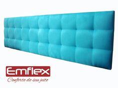 Cabeceira Estofada King Para Cama Box - Modelo Anne Colors - R$ 379,00 no MercadoLivre