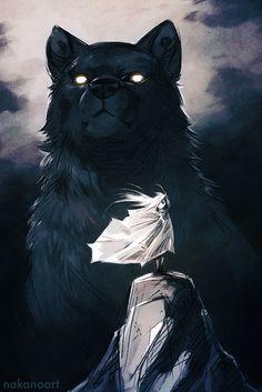 Big Bad Wolf by nakanoart.deviantart.com on @DeviantArt