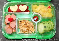 Little Heart Bento School Lunch