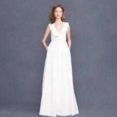 wedding gowns under $1000: j. crew kira dress