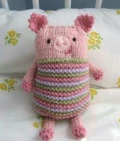Nasu-possu- Puerquito crochet