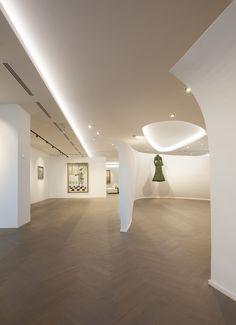 Belfius Art Gallery – Bruxelles, Belgium – Client: Belfius Bank & Insurance - Architectural ...