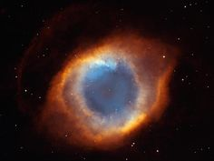 NGC 7293 - Iridescent Glory of Nearby Planetary Nebula - This photo of the coil-shaped Helix Nebula is one of the largest and most detailed celestial images ever made. It lies a distance of 650-700 light-years away