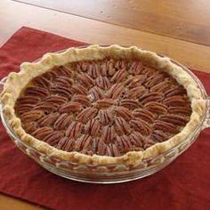 christmas recipes, food, bake, irresist pecan, pie recipes, pecan pies, pie allrecipescom, pecans, dessert