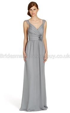 Silver Long Bridesmaid Dresses