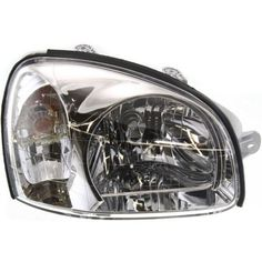 2001-2003 Hyundai Santa Fe Head Light RH, Assembly