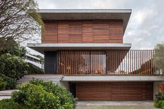 Bravos House design creates a simple color palette with a strong visual impact - CAANdesign | Architecture and home design blog