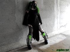 Bunker-09 - Cybergoth by Arhythmia