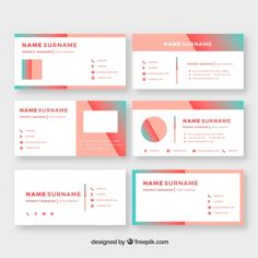 Email signature collection in gradient c. Signature Ideas, Signature Design, Outlook Email Signature, Creative Email Signatures, Professional Email Signature, Email Client, Social Icons, Signature Collection, Business Card Design