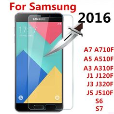 Case for samsung Screen Protector Film Tempered Glass For Samsung Galaxy A3 A5 A7 J1 J3 J5 2016 2017 S3 S4 S5 S6 S7 J2 prime