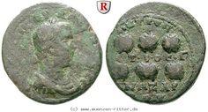 RITTER Kilikien, Anazarbos, Valerianus I., Hexassarion, Preiskronen #coins