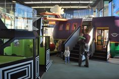 Chicago O'Hare International Airport has two play areas designed by the Chicago Children's Museum.Airports give kids a place to play - TODAY Travel
