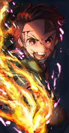 Kimetsu no Yaiba, Blade of Demon Destruction, Demon Slayer: Kimetsu no Yaiba The Best Anime Art Demon Slayer, Slayer Anime, Otaku Anime, Anime Figures, Anime Characters, Anime Love, Anime Guys, Manga Dragon, Demon Hunter
