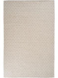 Tapis en laine Tile Taupe 200x300 cm