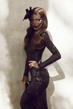 Liberté Lace. Black. Vixen. Fashion.