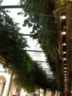 beautiful garden arrangement in our cafe