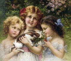 Painting by Emile Vernon