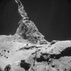 Stunning image captured by Rosetta of comet 67P