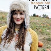 FREE trapper hat pattern - via @Craftsy