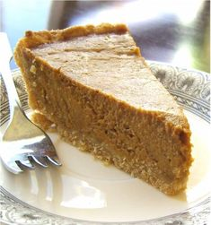 Made this gluten free dairy free pumpkin pie for Thanksgiving and it was fabulous!!