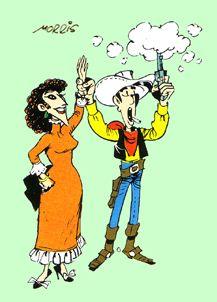 Lucky Luke Lucky Luke, Le Ranch, The Man