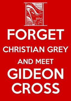 You only thought Christian Grey was 'effed' up. Just wait until you meet Gideon Cross!! Awesome story-much better written and OMG I cannot wait for the conclusion in January. Trilogy starts with Bared to You, then Reflected in You and the final one will be Entwined with You. Read them :)
