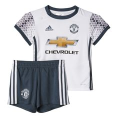 8e26112e Buy adidas Manchester United Kids Infant Baby Third Football Kit White from  our Shop All Boys range at Tesco direct.
