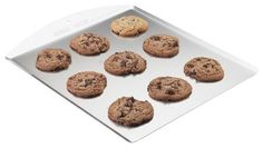 Nordic Ware Cookie Sheets, Set of 6 contemporary-cookie-sheets sturdy and non-seamed cookie sheets are best