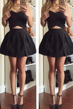 In My Dreams Bandage Dress - Black
