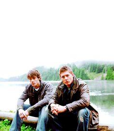 watching the first season of supernatural. loving it so far. <3
